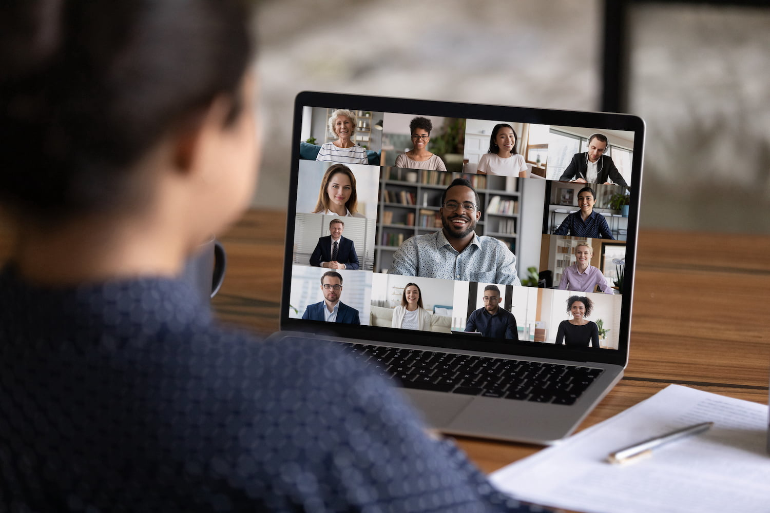 Distance Learning Business Support