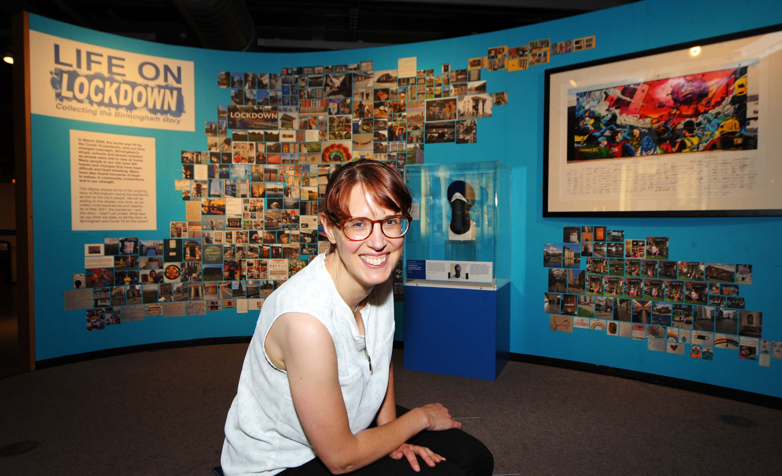 Rosie Barker, Birmingham Museums with Life on Lockdown display_photo credit Emma Trimble_2